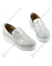 Сребристи дамски ежедневни обувки Asuncion в online магазин Fashionzona