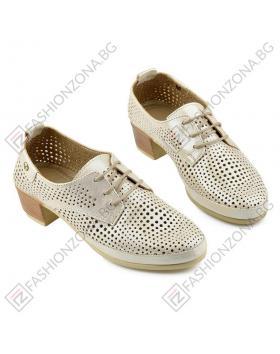 Бежови дамски ежедневни обувки Blaire в online магазин Fashionzona