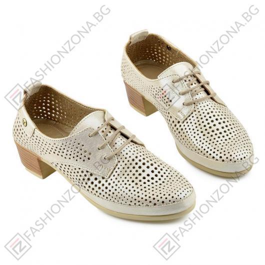 Бежови дамски ежедневни обувки Blaire
