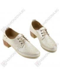 Бежови дамски ежедневни обувки Mallika в online магазин Fashionzona