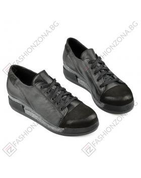 Черни дамски ежедневни обувки Mrinalini в online магазин Fashionzona