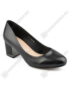 Черни дамски елегантни обувки Jewelyn в online магазин Fashionzona