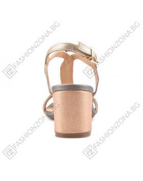 Бежови дамски елегантни сандали Addison в online магазин Fashionzona