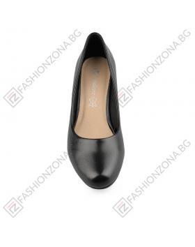 Черни дамски елегантни обувки Oracia в online магазин Fashionzona