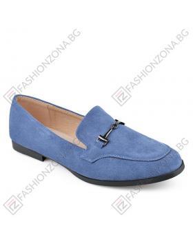 Сини дамски ежедневни обувки Esperance в online магазин Fashionzona