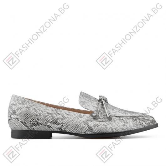 Бели дамски ежедневни обувки Marcia