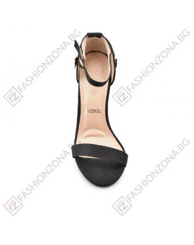 Черни дамски елегантни сандали Kendall в online магазин Fashionzona