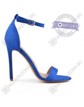 Сини дамски елегантни сандали Robert в online магазин Fashionzona