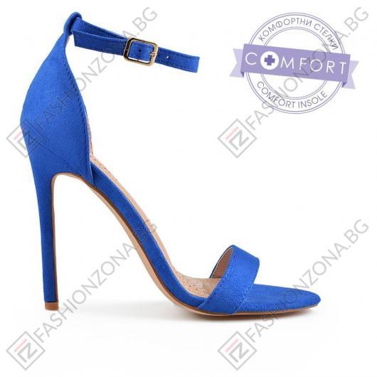 Сини дамски елегантни сандали Robert Melba