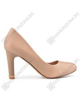 Бежови дамски елегантни обувки Joselyn в online магазин Fashionzona