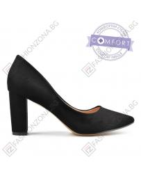 Черни дамски елегантни обувки 0138086