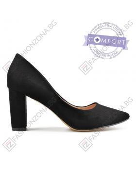 Черни дамски елегантни обувки Tonia в online магазин Fashionzona