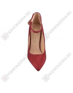 Червени дамски елегантни обувки Jami в online магазин Fashionzona