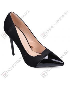 Черни дамски елегантни обувки Jill в online магазин Fashionzona