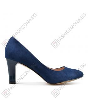 Сини дамски елегантни обувки Lilith в online магазин Fashionzona