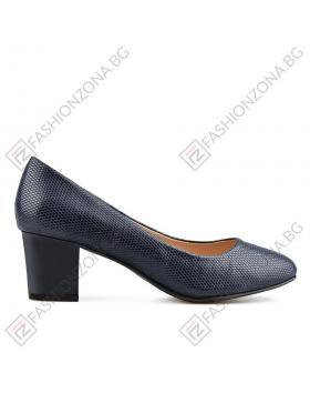 Сини дамски елегантни обувки Virgie в online магазин Fashionzona