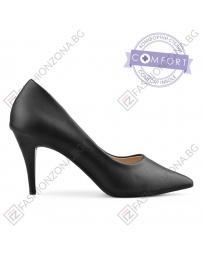 Черни дамски елегантни обувки Ethel