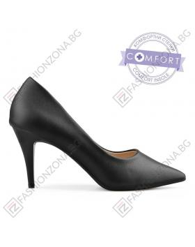 Черни дамски елегантни обувки Ethel в online магазин Fashionzona