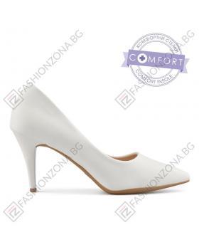 Бели дамски елегантни обувки Shelia в online магазин Fashionzona