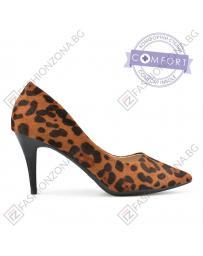 Кафяви дамски елегантни обувки Janiyah в online магазин Fashionzona