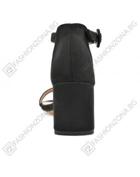 Черни дамски елегантни сандали Jimmie в online магазин Fashionzona