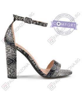 Черни дамски елегантни сандали Tamara в online магазин Fashionzona
