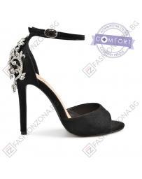 Черни дамски елегантни сандали Gabriela в online магазин Fashionzona
