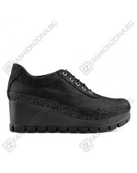 Черни дамски ежедневни обувки Meghan в online магазин Fashionzona