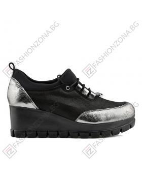 Черни дамски ежедневни обувки Myrna в online магазин Fashionzona