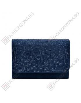 Синя дамска елегантна чанта Ailani в online магазин Fashionzona