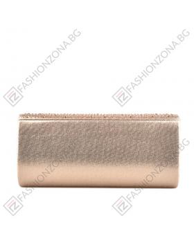 Златиста дамска елегантна чанта Jody в online магазин Fashionzona