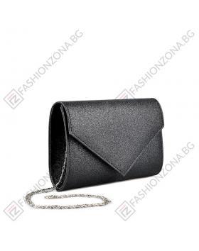 Черна дамска елегантна чанта Gladys в online магазин Fashionzona