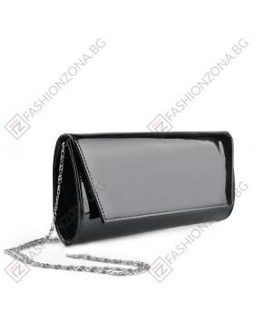 Черна дамска елегантна чанта Brigitte в online магазин Fashionzona
