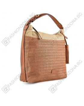 Кафява дамска ежедневна чанта Micah в online магазин Fashionzona