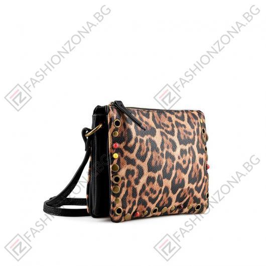 Кафява дамска ежедневна чанта Kenley