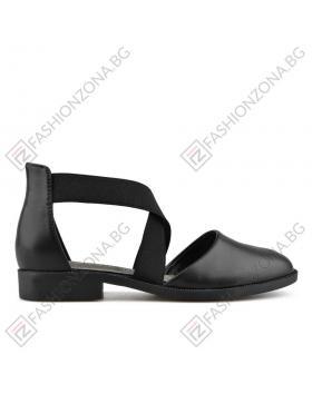 Черни дамски ежедневни сандали Samara в online магазин Fashionzona