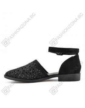 Черни дамски ежедневни сандали Zendaya в online магазин Fashionzona