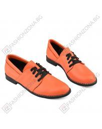 Оранжеви дамски ежедневни обувки