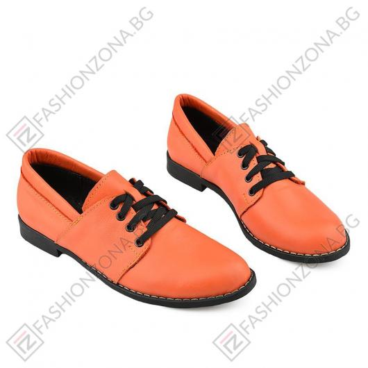 Оранжеви дамски ежедневни обувки Kathie