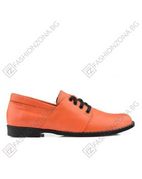 Оранжеви дамски ежедневни обувки Kathie в online магазин Fashionzona