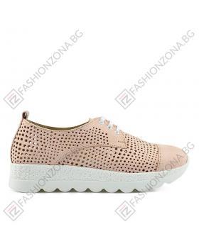Розови дамски ежедневни обувки Jeannette в online магазин Fashionzona
