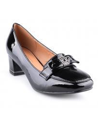 Черни дамски ежедневни обувки 0126106