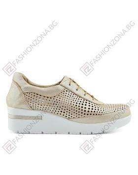 Бежови дамски ежедневни обувки Kirsten в online магазин Fashionzona