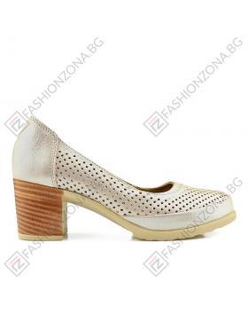 Бежови дамски ежедневни обувки Selma в online магазин Fashionzona