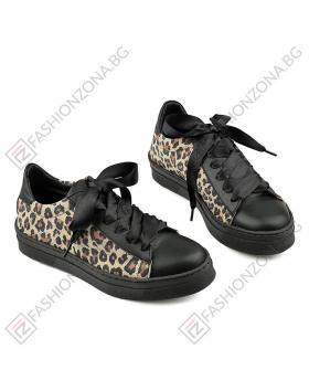 Черни дамски ежедневни обувки Lindsey в online магазин Fashionzona