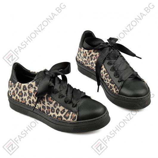 Черни дамски ежедневни обувки Lindsey