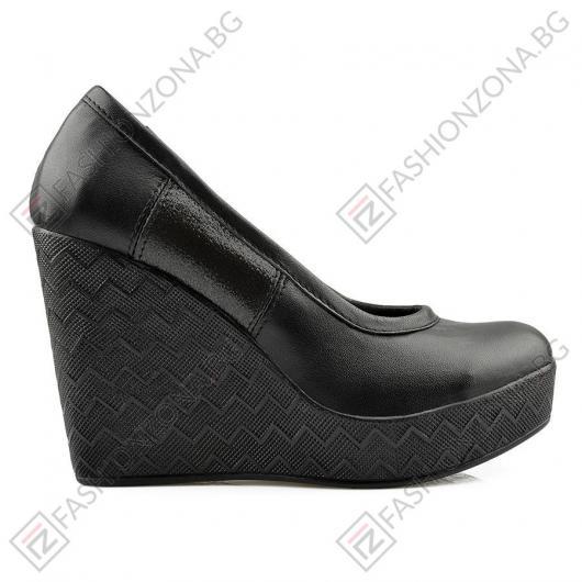 Черни дамски ежедневни обувки Maryann