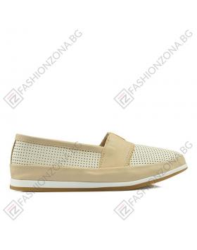 Бежови дамски ежедневни обувки Paisleigh в online магазин Fashionzona