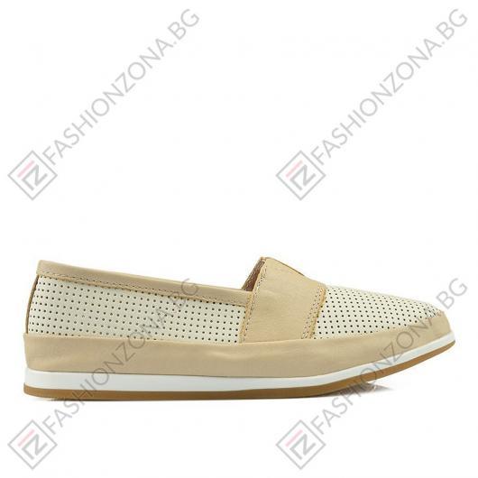 Бежови дамски ежедневни обувки Paisleigh