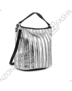 Сребриста дамска ежедневна чанта Anaya в online магазин Fashionzona